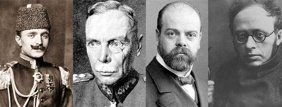 Enver Paşa - General Hans Von Seeckt- Lenin ve Troçki