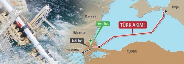 Güzergah değişikliği: Türk Akımı, East-Med (İsrail-Yunanistan) kapışması...